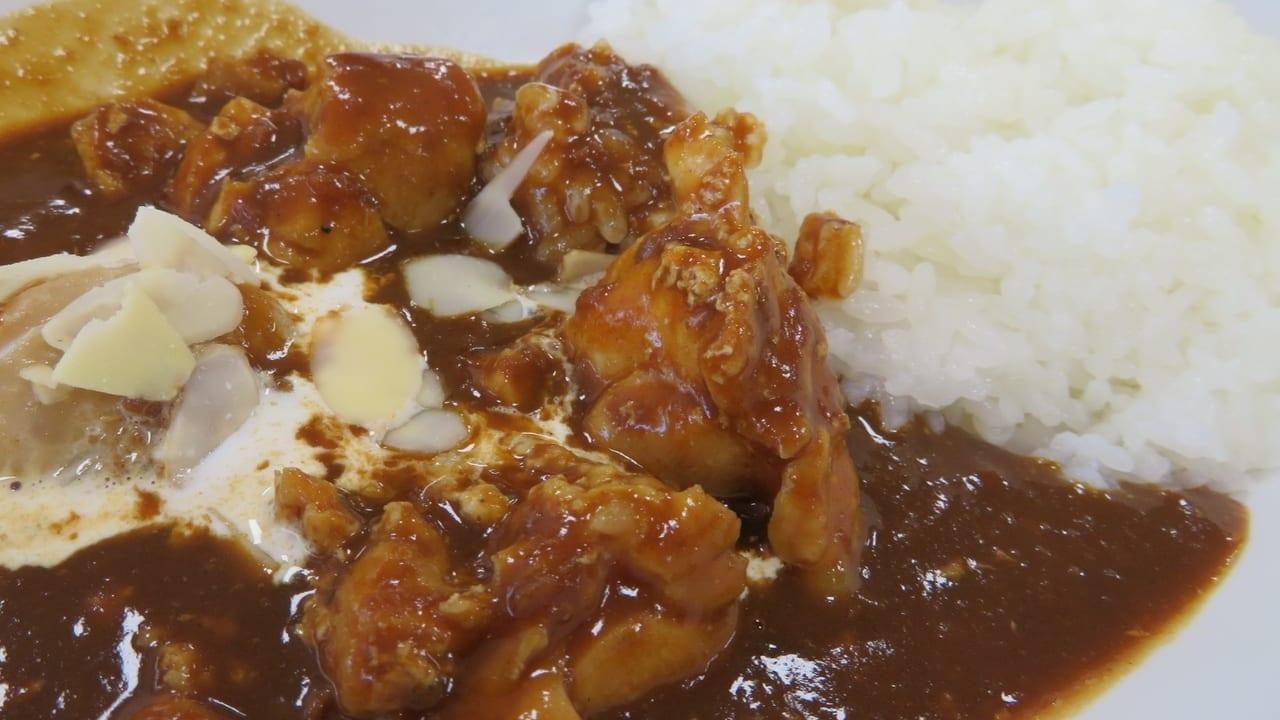 平塚市役所の食堂「アルテール」の100時間ソースで煮込んだチキンカレー