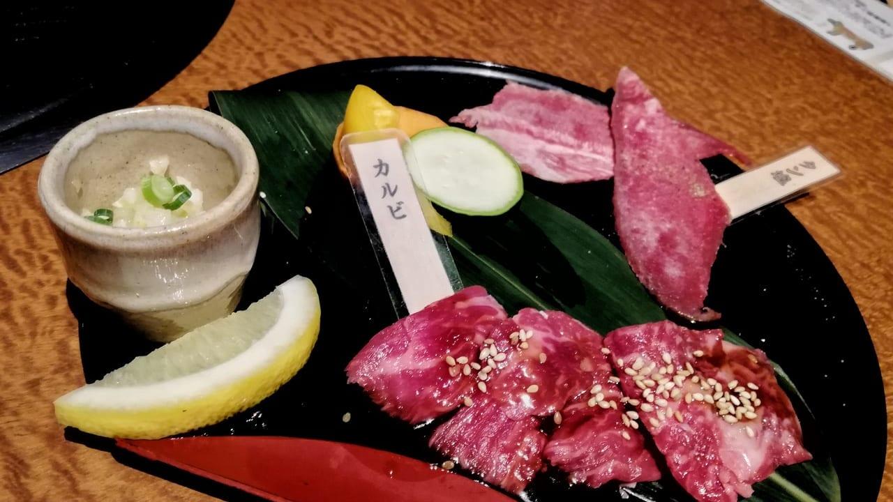 7周年記念ランチが楽しめる「近江牛 焼肉 幸乃羽」
