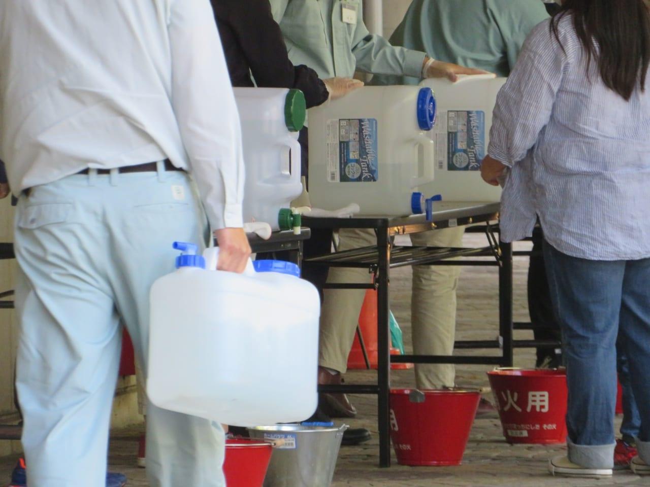 5月21日から除菌液(次亜塩素酸水)の配布場所を6か所増設 平塚競輪場、公民館など