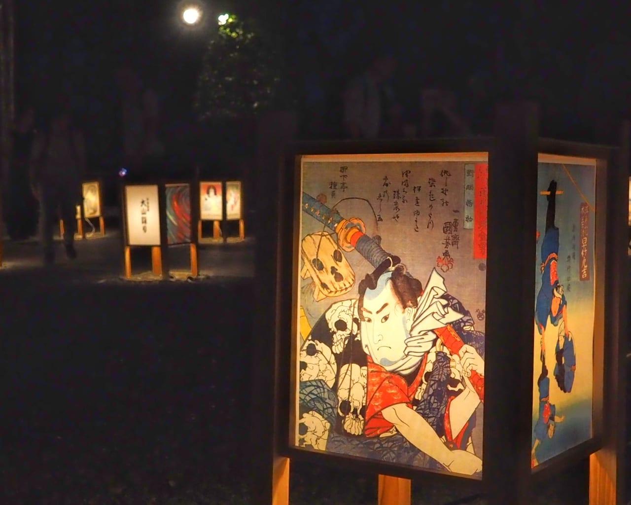 平塚八幡宮で「ぼんぼり祭り」が開催されます!