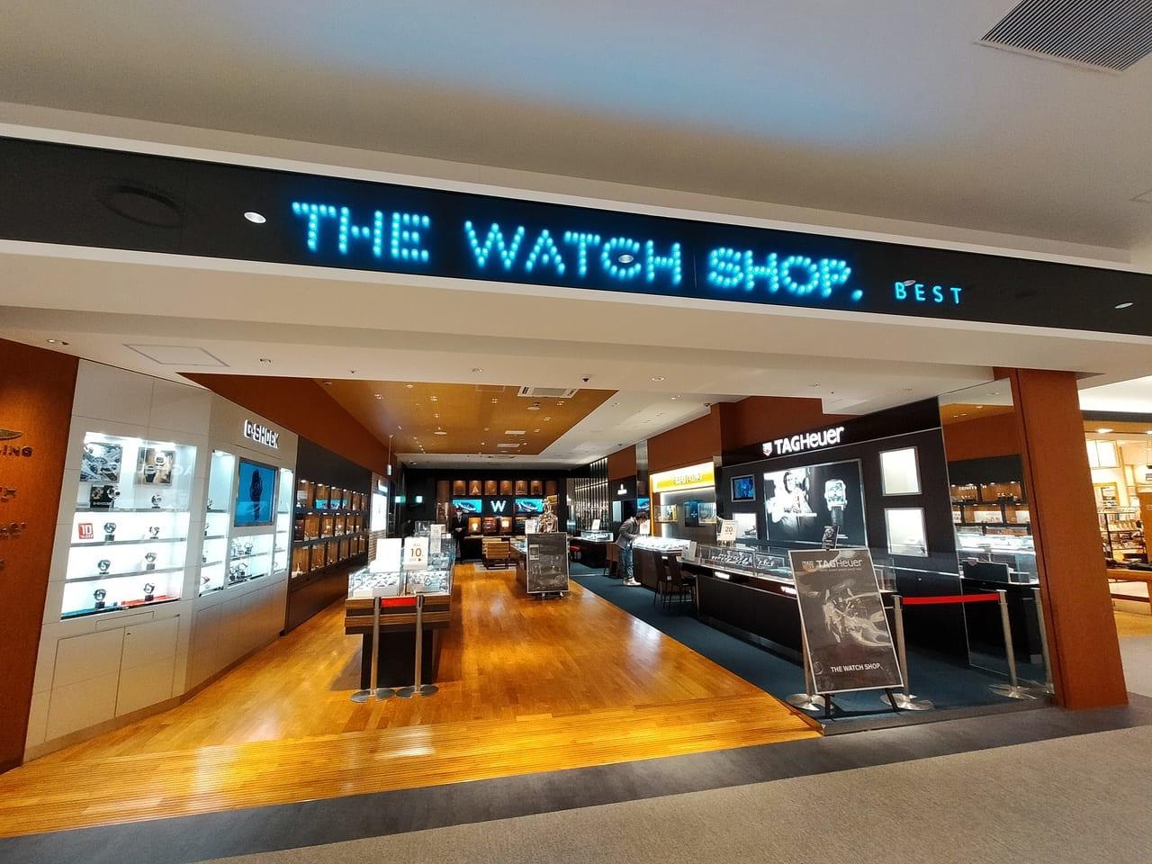 SEIKO、ハミルトン、Gショックなど、一流ブランドの腕時計をカジュアルにセレクトできる「THE WATCH SHOP.ららぽーと湘南平塚」が1月31日(日)の営業を持って閉店します。